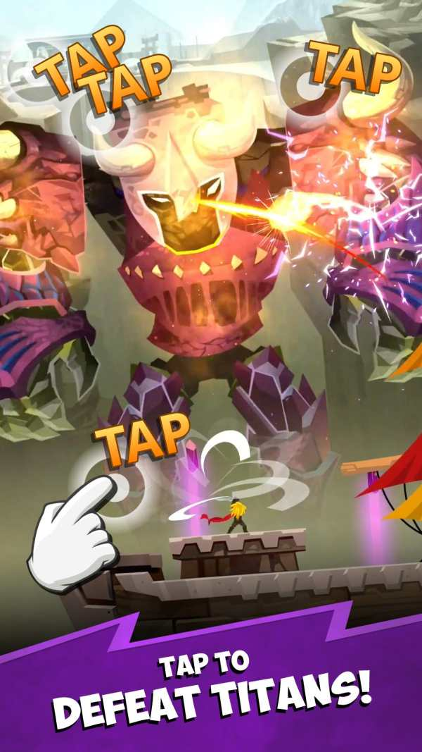 Tap Titans 2: Legends & Mobile Heroes Clicker Game screenshot 2