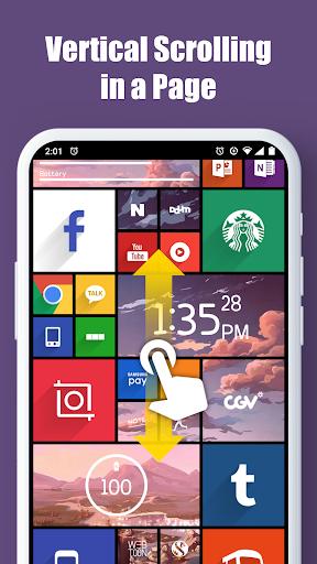Square Home - Launcher : Windows style 5 تصوير الشاشة