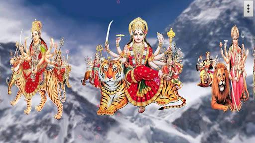 4D Maa Durga Live Wallpaper 14 تصوير الشاشة