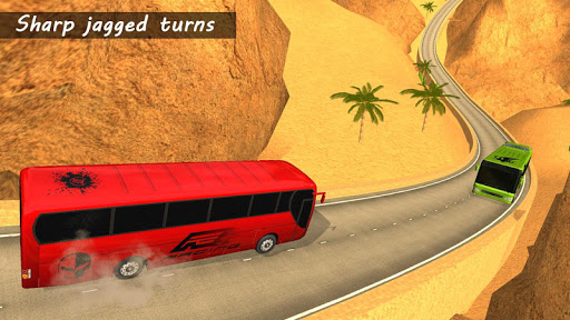 Bus Racing : Coach Bus Simulator 2021 स्क्रीनशॉट 3