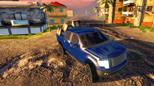 Off road Truck Simulator: Tropical Cargo screenshot 3