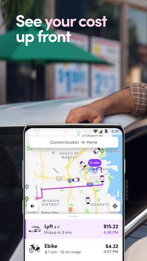 Lyft - Rideshare, Bikes, Scooters & Transit screenshot 2
