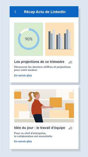 LinkedIn: recherche de job & nouvelles d'affaires screenshot 8