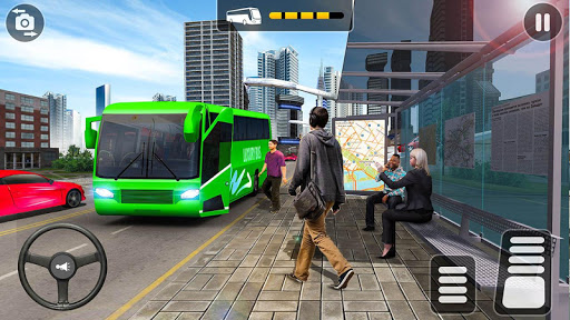 City Coach Bus Simulator 2021 - PvP Free Bus Games screenshot 3