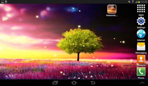 Awesome-Land Live wallpaper HD : Grow more trees screenshot 15