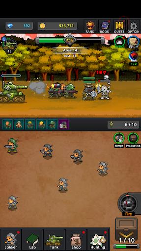 Grow Soldier - Idle Merge game 3 تصوير الشاشة