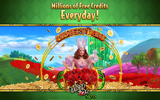 Wizard of OZ Free Slots Casino Games 10 تصوير الشاشة