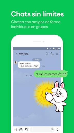 LINE: Llama y mensajea gratis screenshot 1