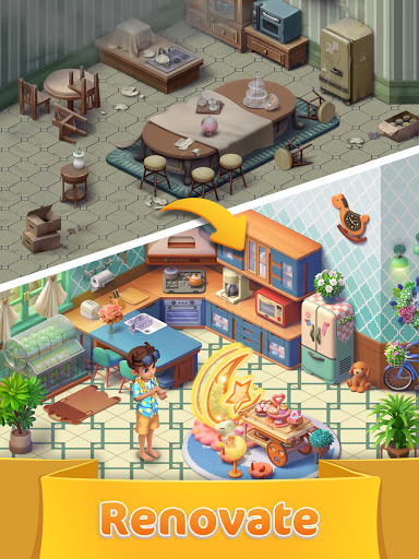 Jellipop Match-Decorate your dream island! screenshot 9