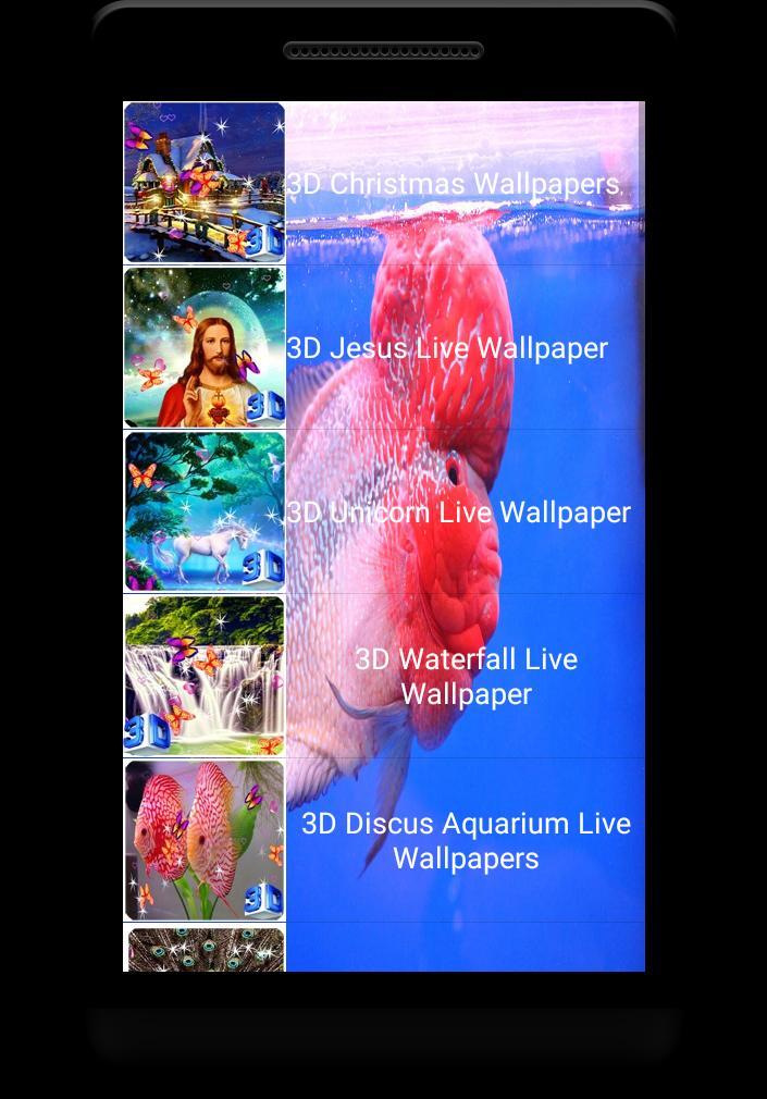 Flowerhorn Fish Special Live Wallpaper 4 تصوير الشاشة