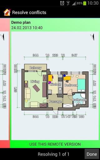 Floor Plan Creator 7 تصوير الشاشة