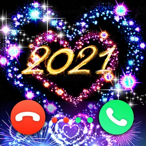 Call Flash - Color Phone Caller Screen, LED Flash أيقونة