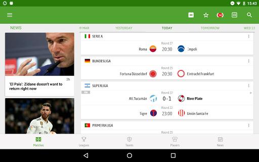 BeSoccer - Soccer Live Score screenshot 10