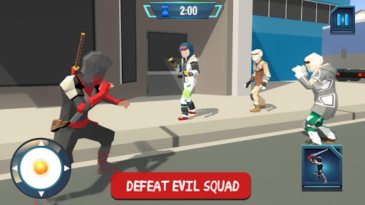 Ninja Rope Hero Crime City Mafia: Superhero Games screenshot 9