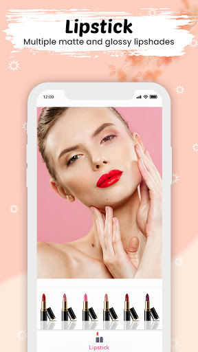 You face Makeup photo editor screenshot 2