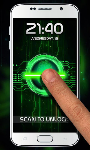 Fingerprint Lock Prank screenshot 2