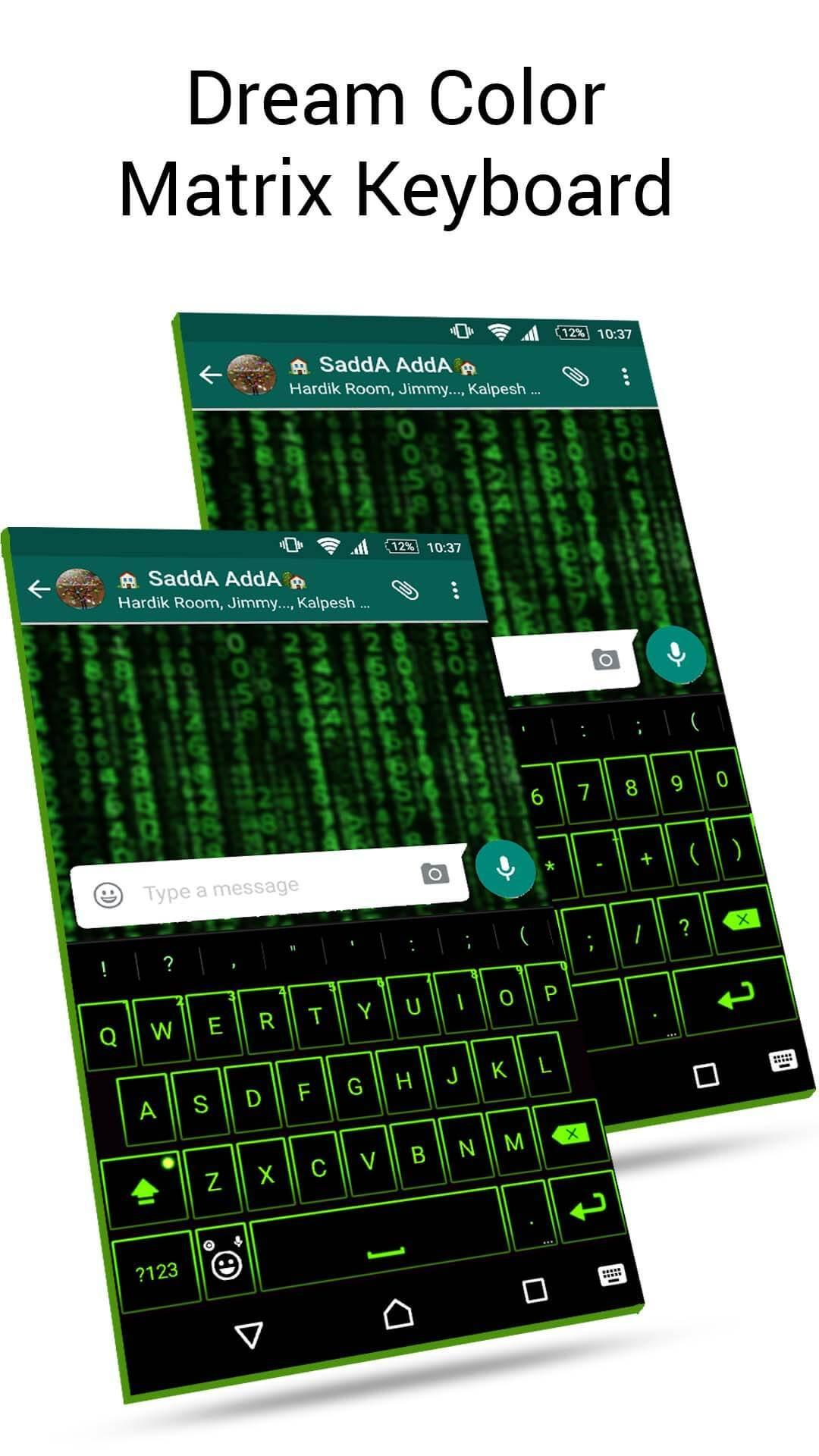 Emoji Neon Matrix Keyboard screenshot 2