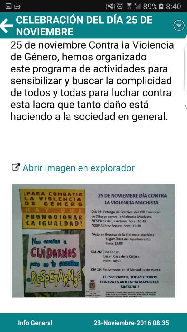 Huesa Informa screenshot 3