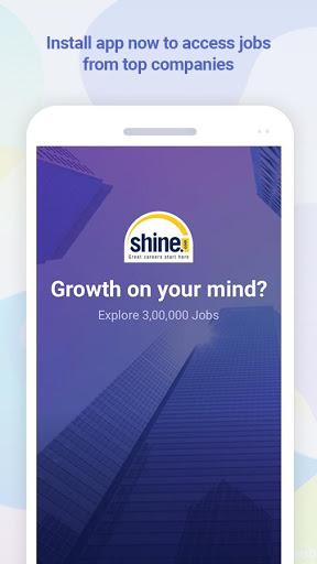 Shine Job Search screenshot 1