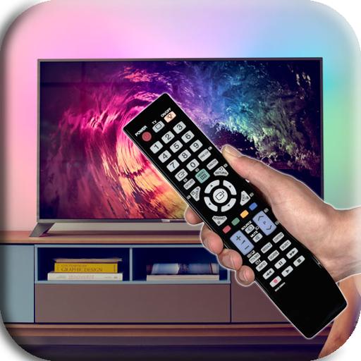 TV screen controller icon