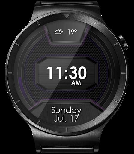 Daring Carbon HD WatchFace Widget Live Wallpaper 15 تصوير الشاشة