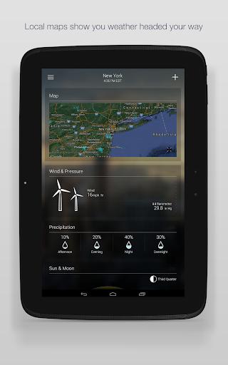 Yahoo Weather 16 تصوير الشاشة