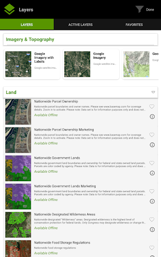 BaseMap: Hunting Maps, Offline Nav/GPS & Weather screenshot 10