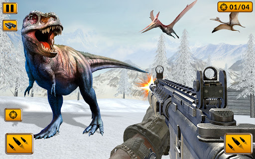 Wild Animal Hunt 2021: Dino Hunting Games स्क्रीनशॉट 6