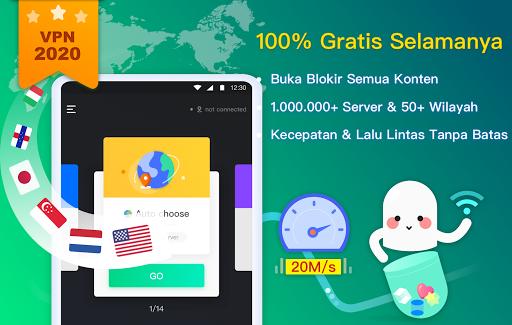 NetCapsule VPN | Proksi Gratis, Cepat, Buka Blokir screenshot 6