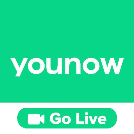 YouNow: البث الحي والدردشة وبرامج البث أيقونة