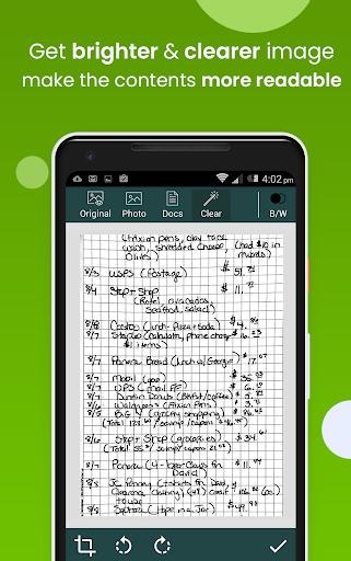 Clear Scanner: Free PDF Scans screenshot 3