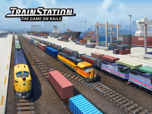 Train Station: ट्रेन भार परिवहन सिम्युलेटर स्क्रीनशॉट 1