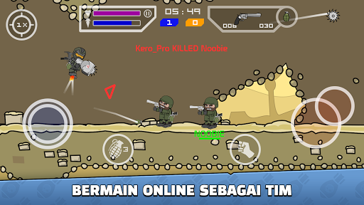 Mini Militia - Doodle Army 2 screenshot 2