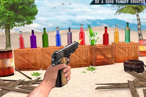 असली बोतल शूटिंग गन गेम्स- मुफ्त शूटिंग गेम्स 2020 स्क्रीनशॉट 4