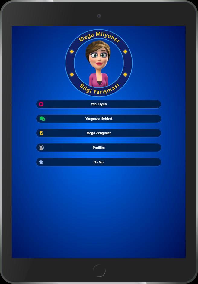 Mega Milyoner 2017 - 50 Bin Soru screenshot 6
