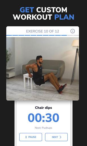BetterMen: Home Workouts & Diet screenshot 5