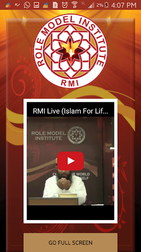 Role Model Institute (RMI) 5 تصوير الشاشة