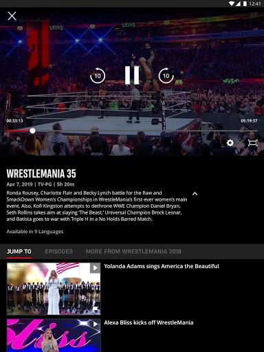 WWE screenshot 11