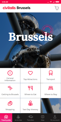 Brussels Guide by Civitatis screenshot 2