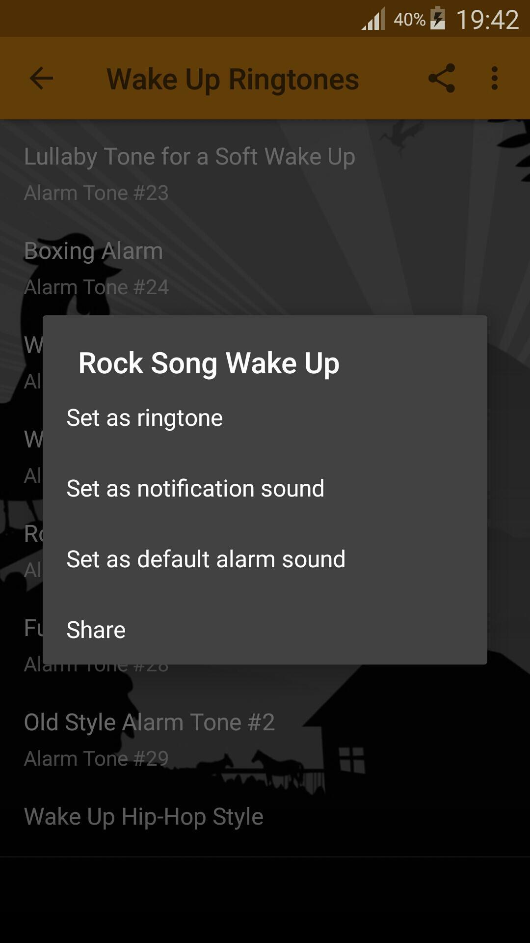 Wake Up Alarm Clock Ringtones screenshot 4