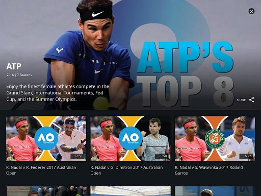 Tennis Channel 9 تصوير الشاشة