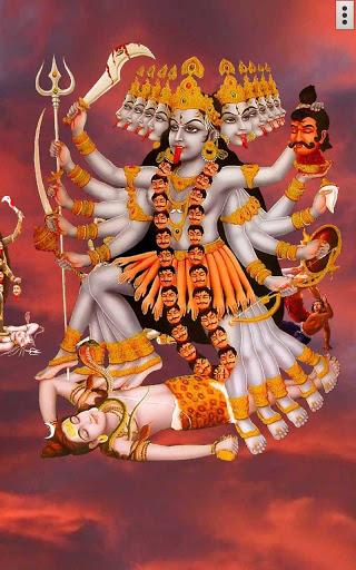 4D Maa Kali Live Wallpaper 2 تصوير الشاشة