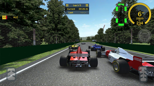 Formula Classic - 90's Racing screenshot 3