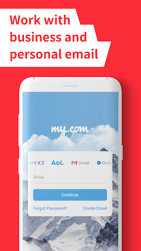myMail: Email App for Gmail, Hotmail & AOL E-Mail 2 تصوير الشاشة