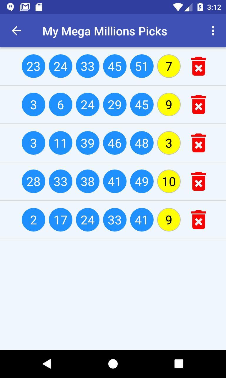 U-Pick Lotto screenshot 4