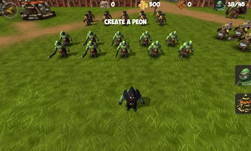 OrcWar Clash RTS screenshot 9
