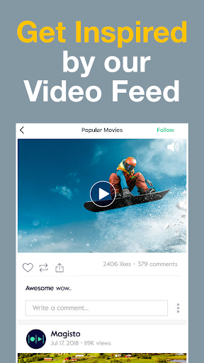 Magisto - Video Editor & Music Slideshow Maker screenshot 8