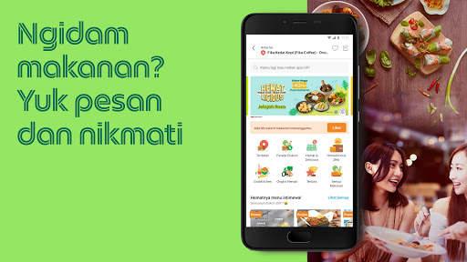 Grab: makanan, pengiriman, pembayaran, ojek, pulsa screenshot 2