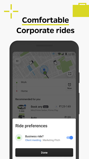 Ola, Safe and affordable rides скриншот 4