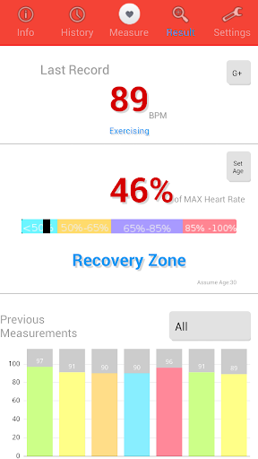 Heart Rate Monitor screenshot 3